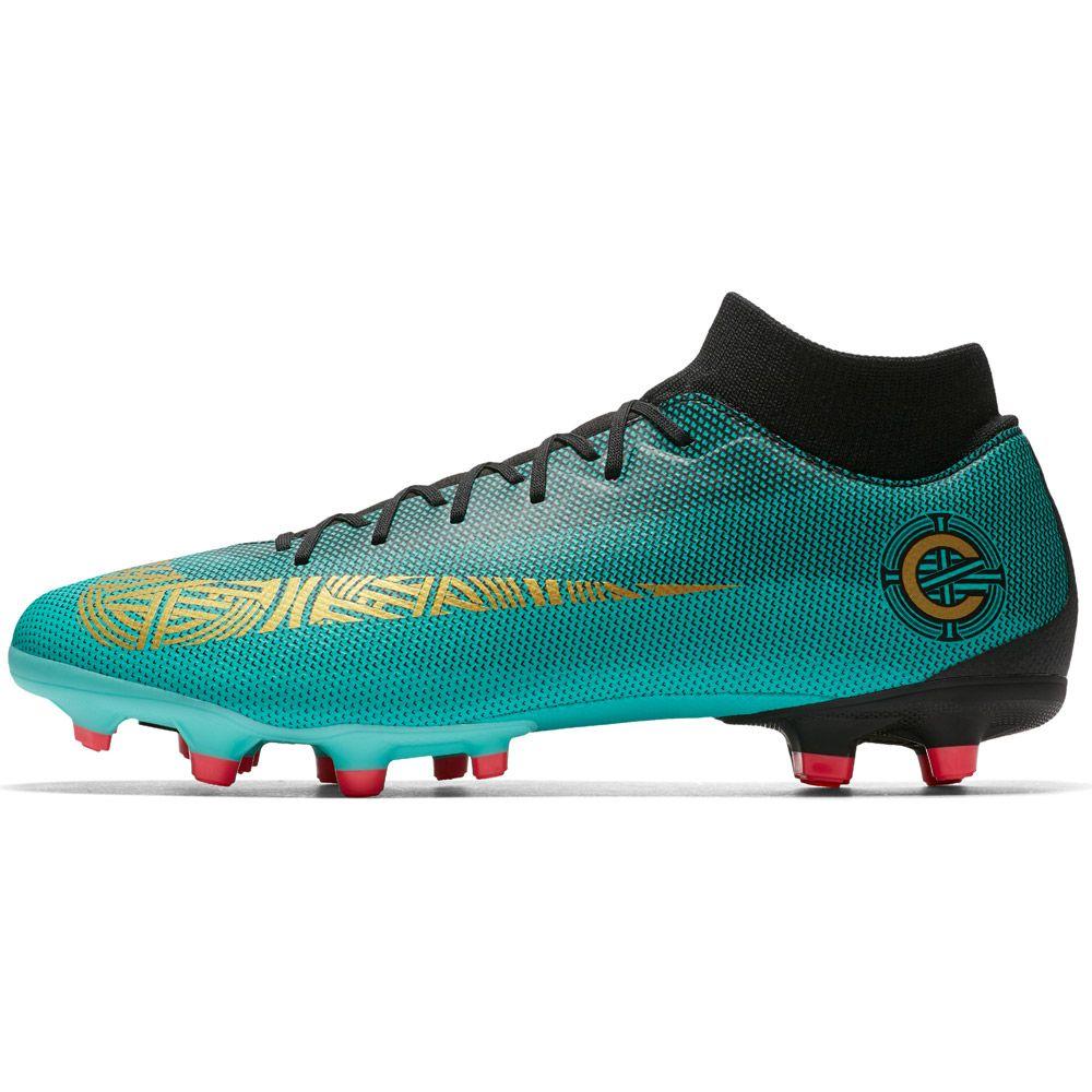 Online-Shop billig zu verkaufen schön Design Nike - Superfly VI Academy CR7 MG Football Boots Men turquoise