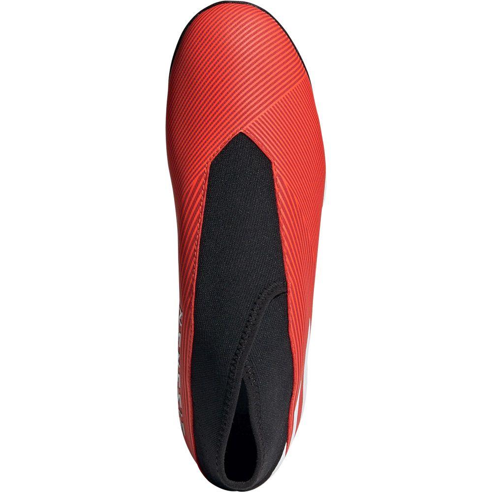 adidas Nemeziz 19.3 TF Football Shoes Men active red footwear white solar red