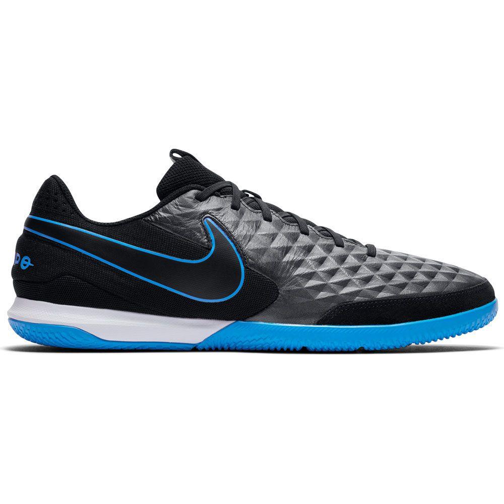 acelerador Alpinista Frenesí  Nike - Tiempo Legend 8 Academy IC Soccer Shoes Men black black-blue hero at  Sport Bittl Shop