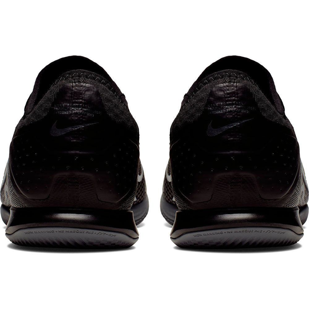 Pro IC Soccer Shoe Men black dark grey