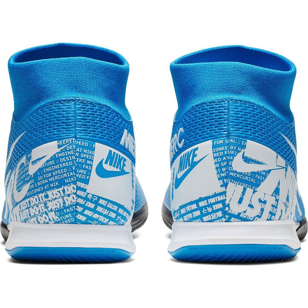 Nike Mercurial Superfly 7 Academy Ic Fussballschuhe Herren Blue Hero White Obsidian