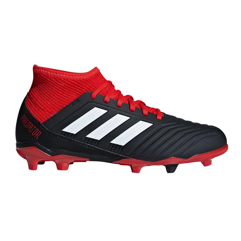 Adidas Predator 18 3 Fg Fussballschuhe Kinder Core Black