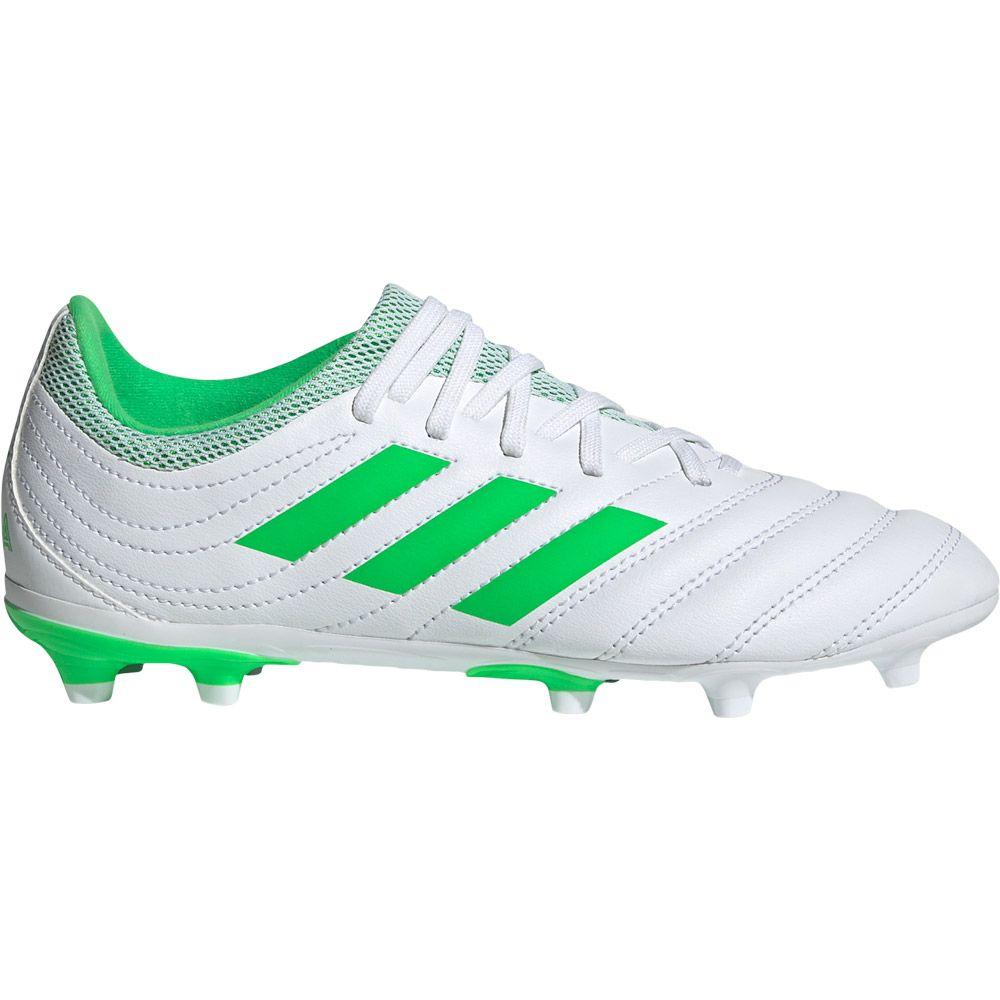 Adidas Copa 19 3 Fg Fussballschuhe Kinder Footwear White Solar Lime