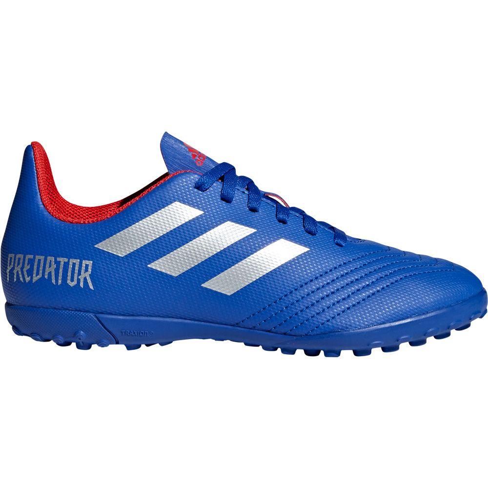 paz Consumir Sobretodo  adidas - Predator 19.4 TF J Football Shoes Kids bold blue silver met active  red at Sport Bittl Shop