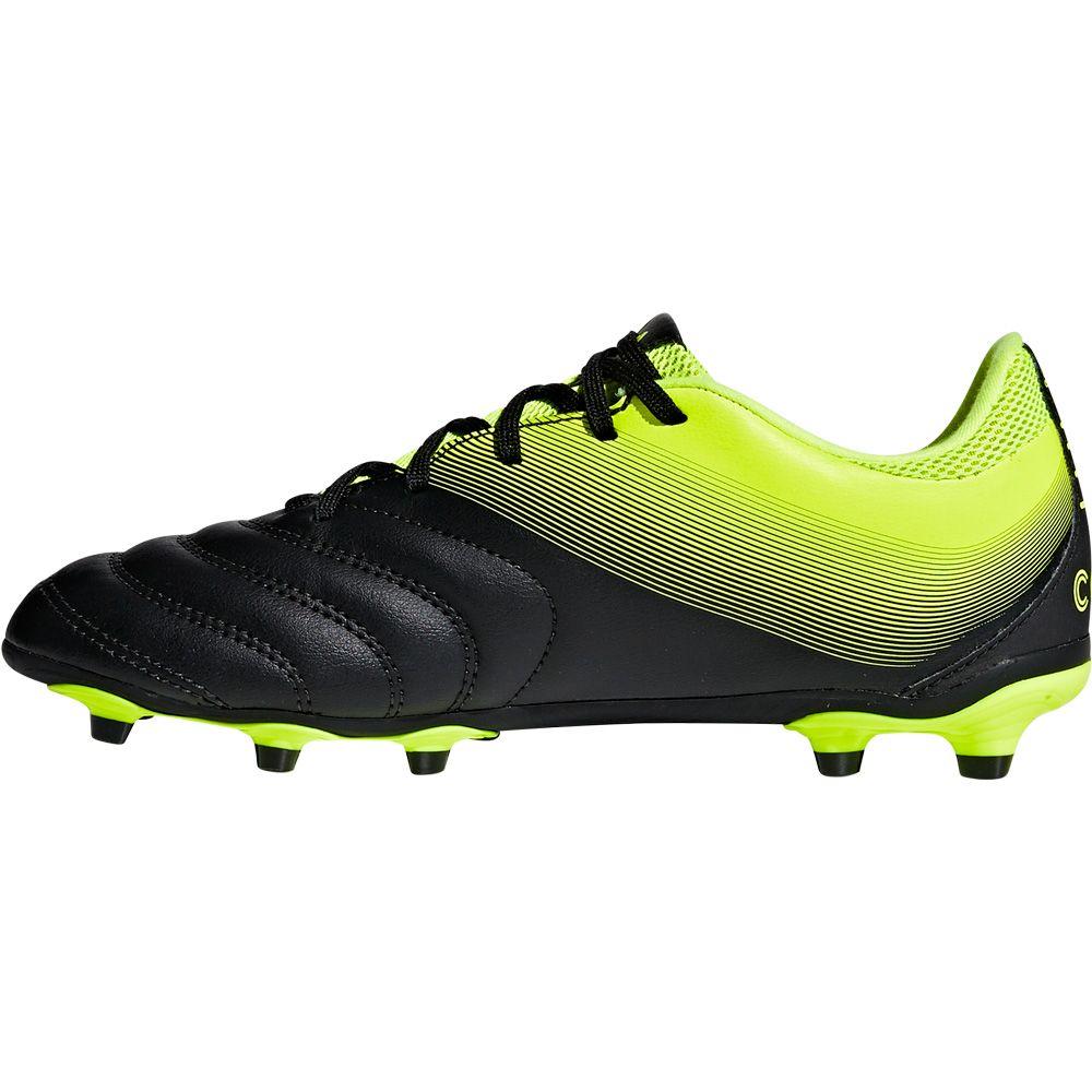 Adidas Copa 19 3 Fg Fussballschuhe Kinder Core Black Solar Yellow