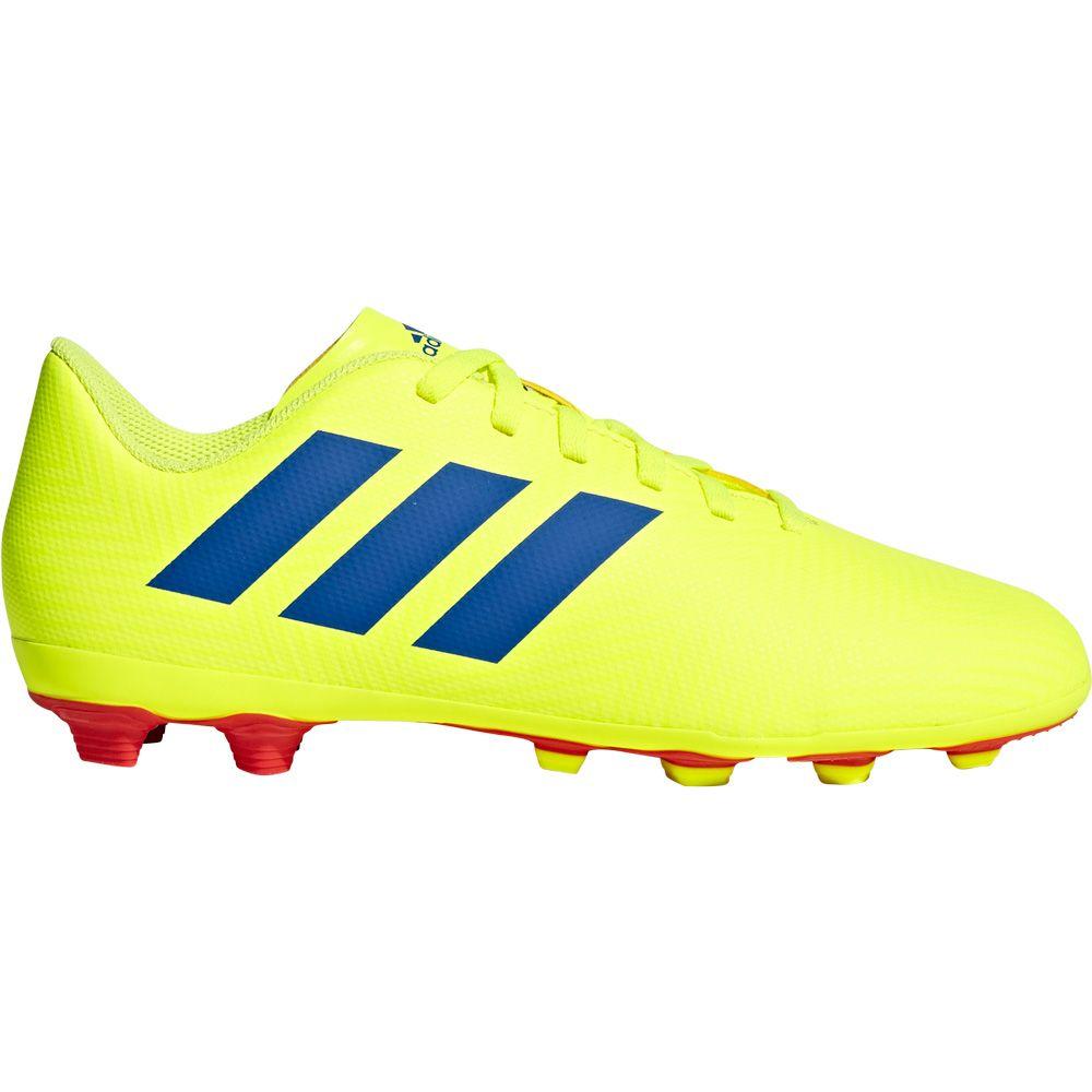 adidas Nemeziz 18.4 FxG J Football Shoes Kids solar yellow