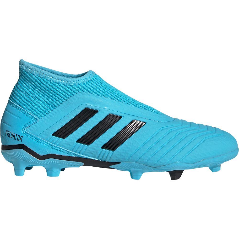 Adidas Predator 19 3 Ll Fg Fussballschuhe Kinder Bright Cyan Core Black Solar Yellow