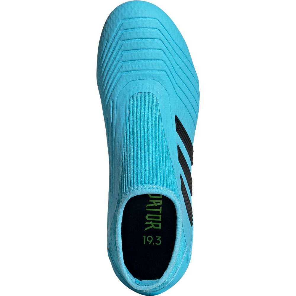 adidas Predator 19.3 LL FG Football Shoes bright cyan core black solar yellow