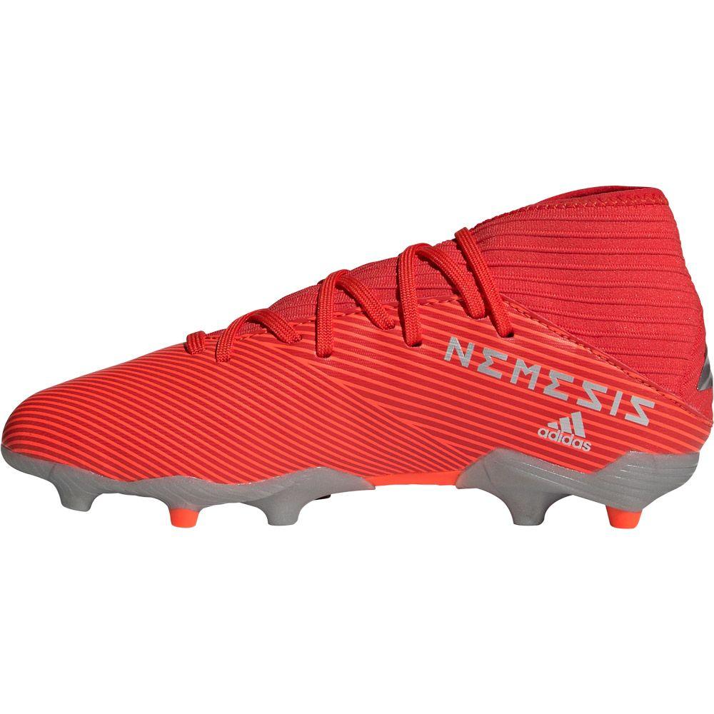 228f1c6867b Nemeziz 19.3 FG Football Shoes Boys active red silver metallic solar red