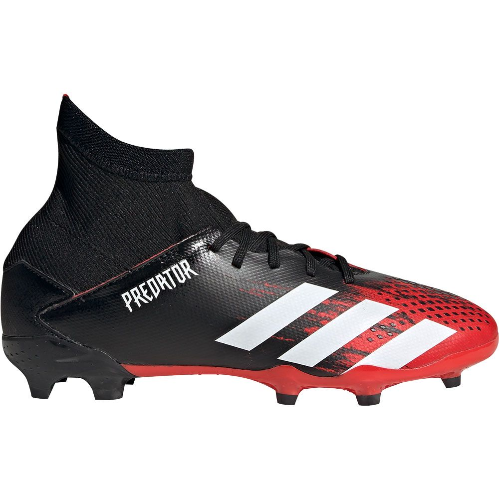 adidas Predator 20.3 FG Football Shoes Boys core black footwear white