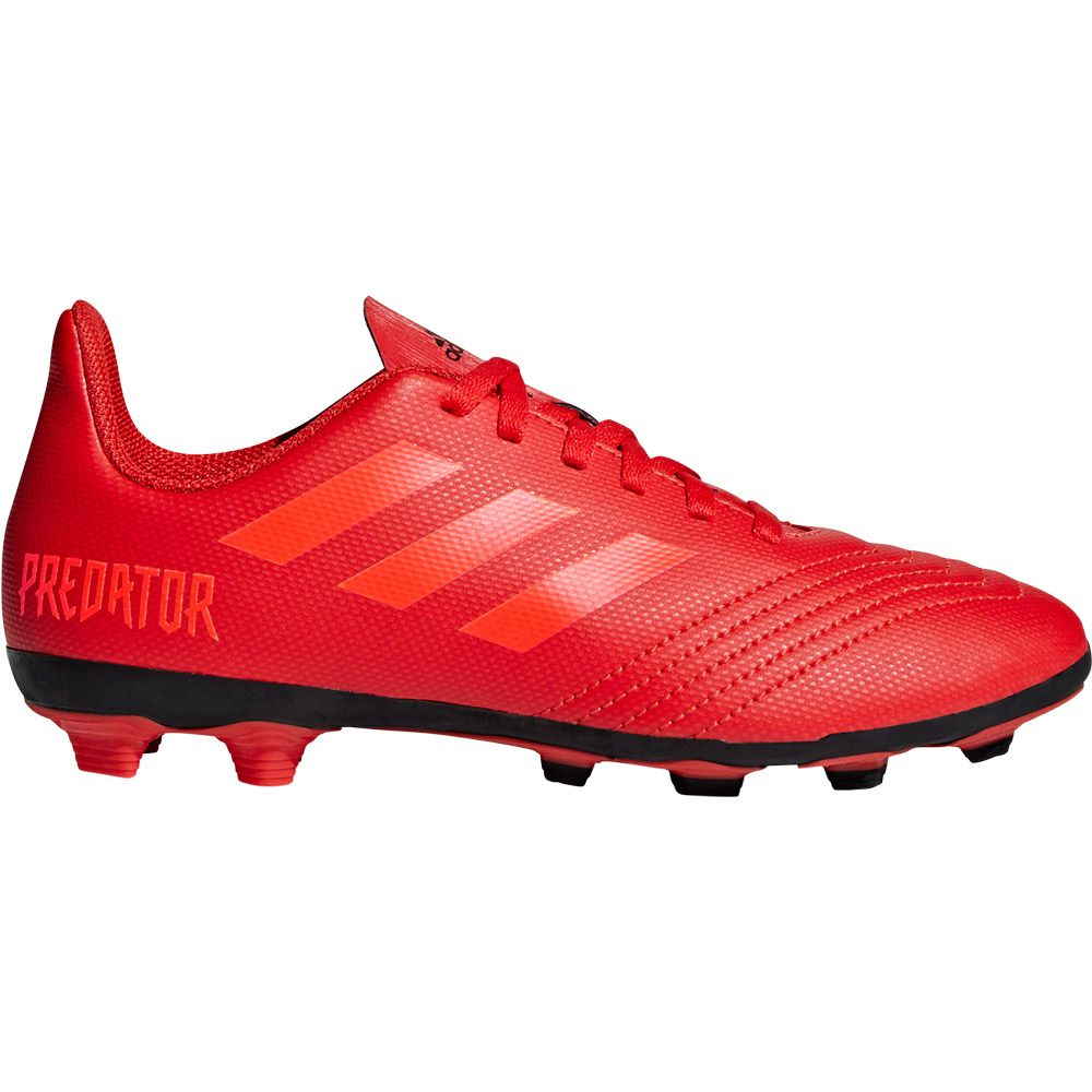 4697c07cbe3 adidas Predator 19.4 FxG J Football Shoes Kids active red solar red core  black