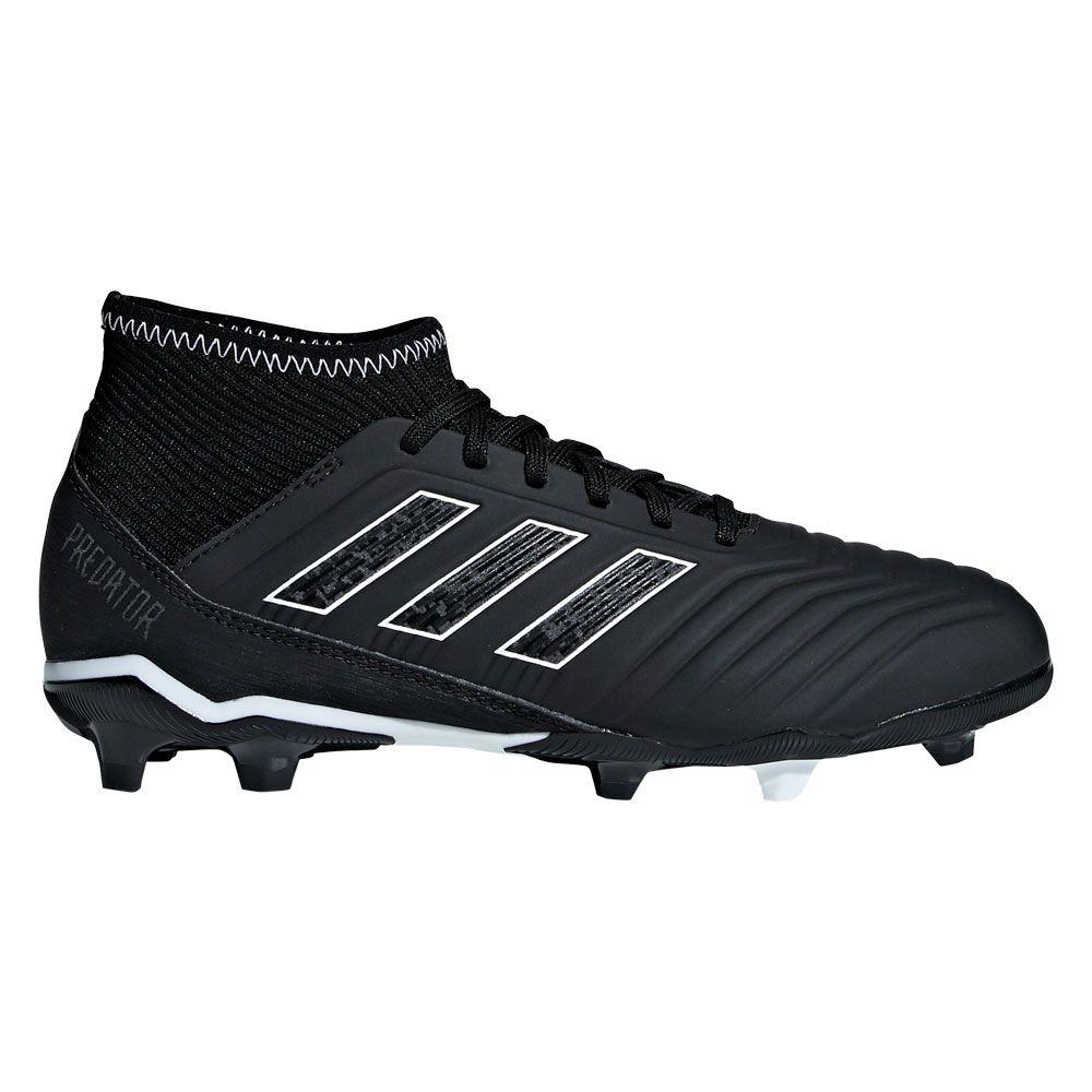 adidas - Predator 18.3 FG Football Shoes Kids core black at Sport ... faf97486c