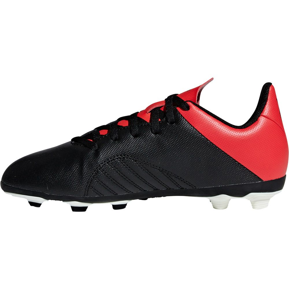 Factura mordaz Cerveza  adidas - X 18.4 FxG J Football Shoes Kids core black off white active red  at Sport Bittl Shop