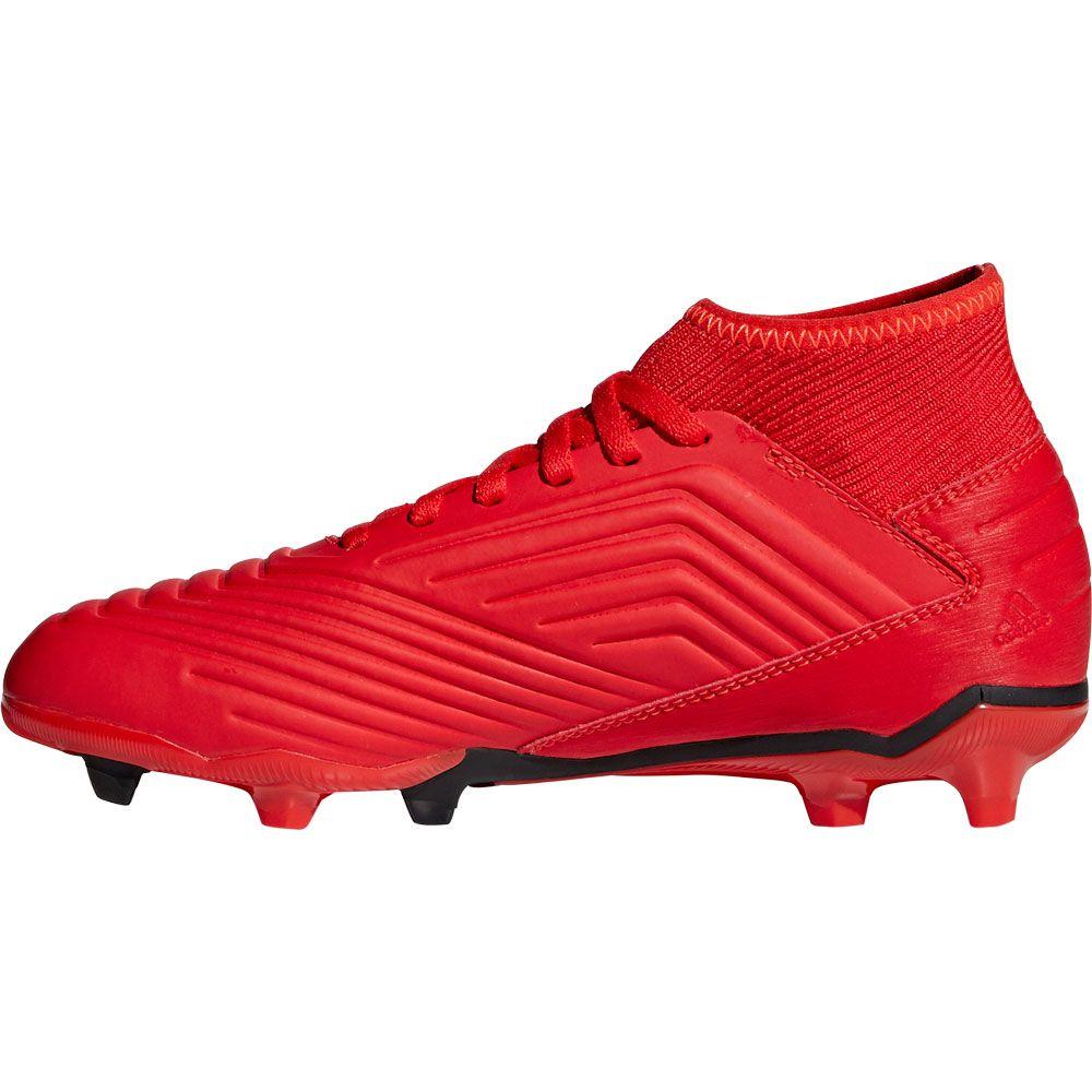 adidas Predator 19.3 FG Football Shoes Kids active red