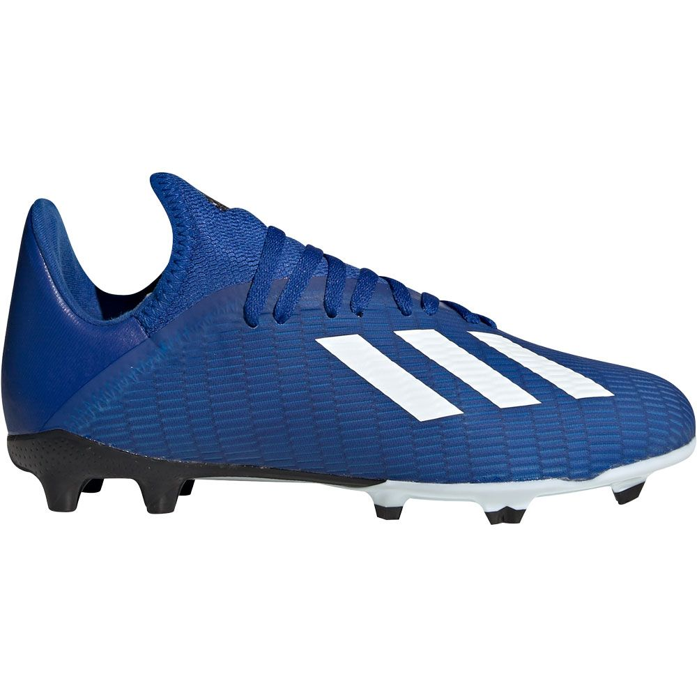 adidas X 19.3 FG Football Shoes Boys team royal blue footwear white core black