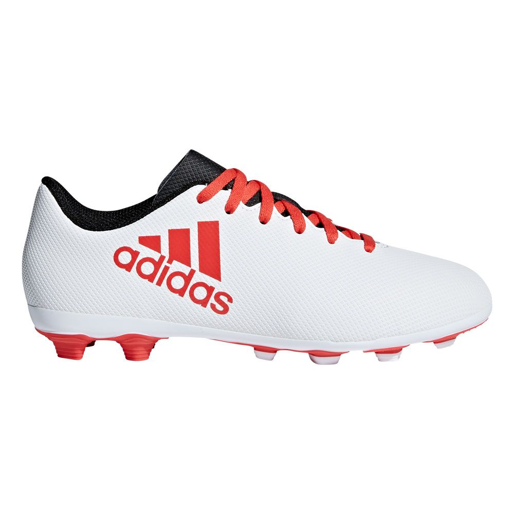 tráfico vertical rociar  adidas - X 17.4 FXG football shoes kids white at Sport Bittl Shop