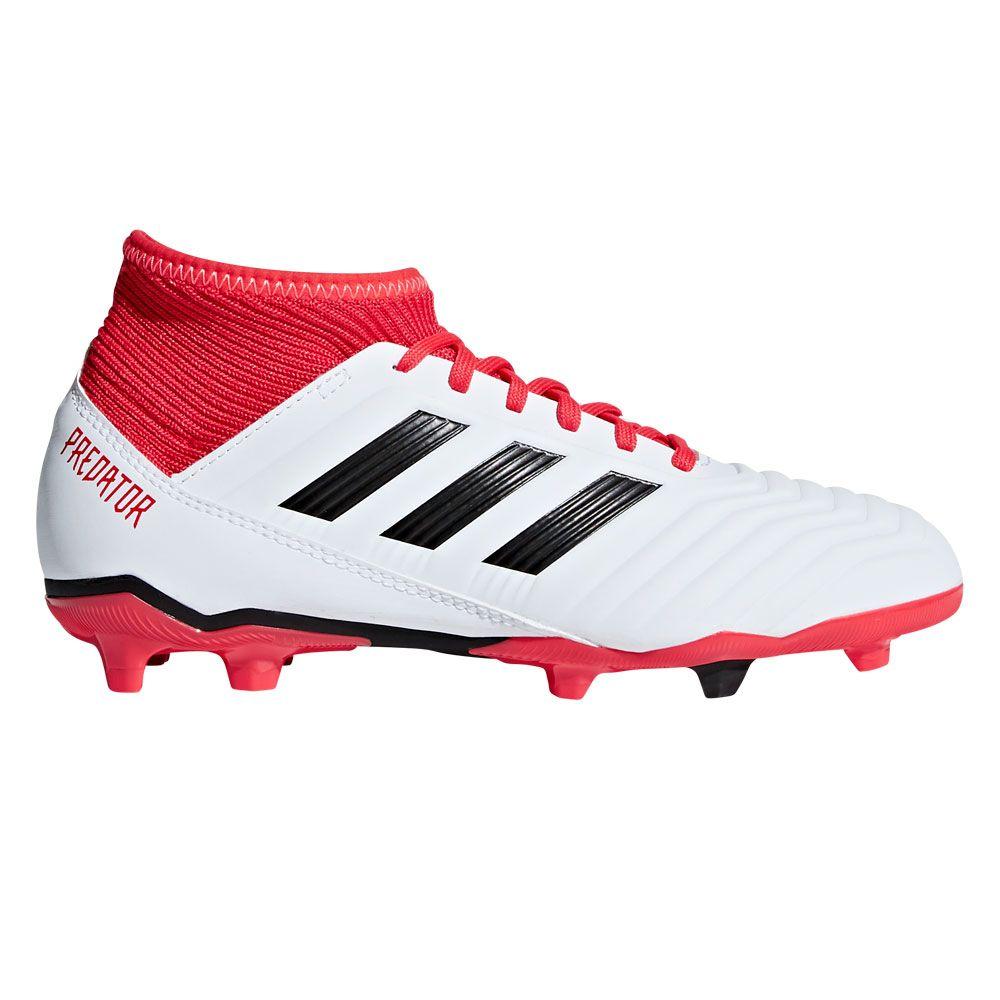adidas Predator 18.3 FG football shoes kids white