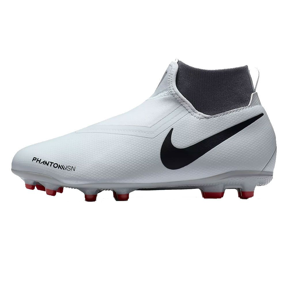 Nike - Phantom Vision Academy DF MG football shoes kids grey at ... 9fabaddeb