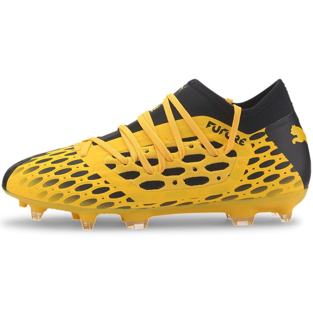 Puma - Future 5.3 Netfit FG/AG Youth Football Shoes Kids ultra yellow puma  black