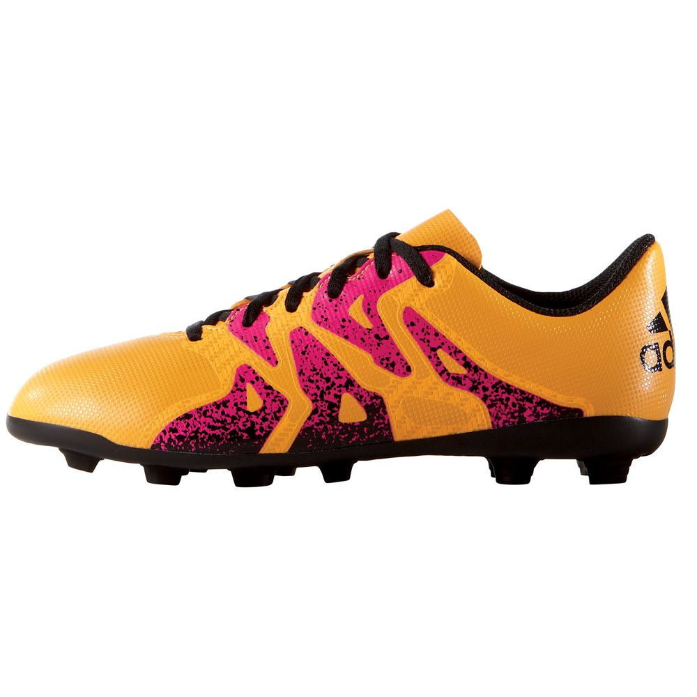 adidas X 15.4 FxG football boots kids solar gold at Sport
