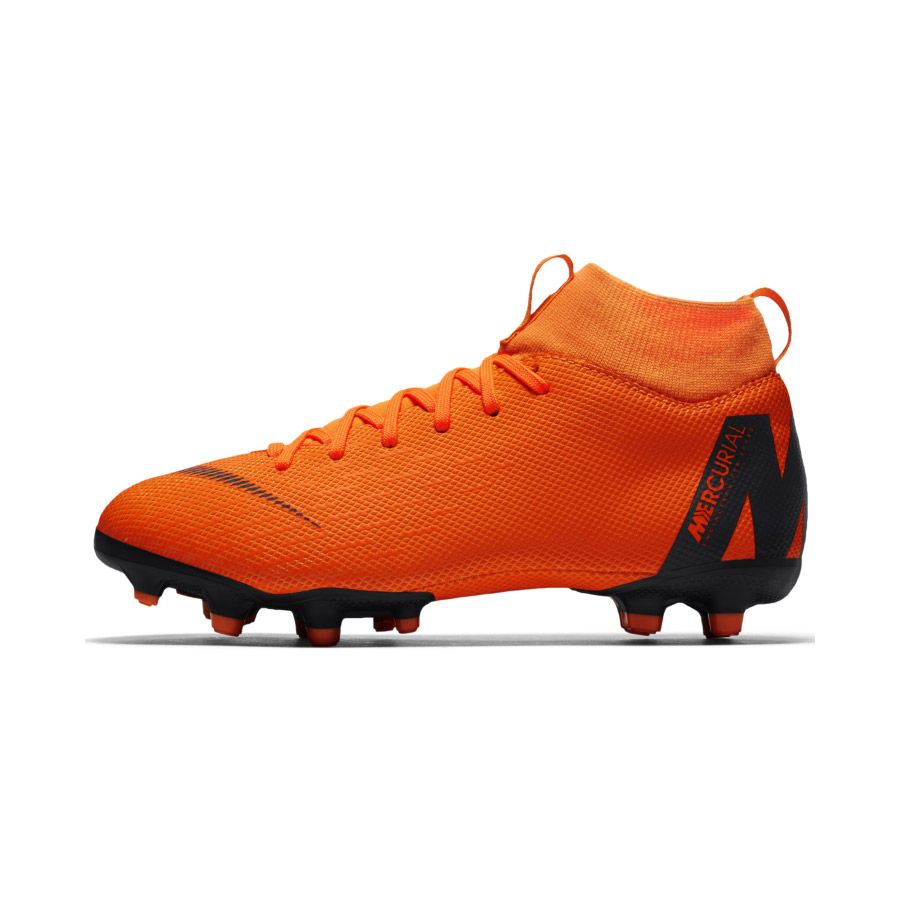 new products a5191 7351d Nike - Jr. Superfly VI Academy MG Football Boots Kids total orange volt  wihte