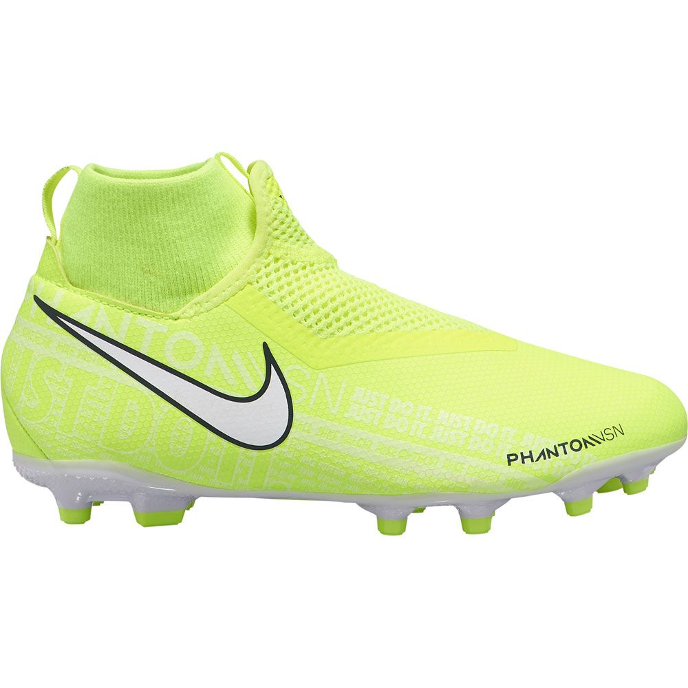 Nike Phantom Vision Academy Dynamic Fit Mg Fussballschuhe Kinder Volt White Volt