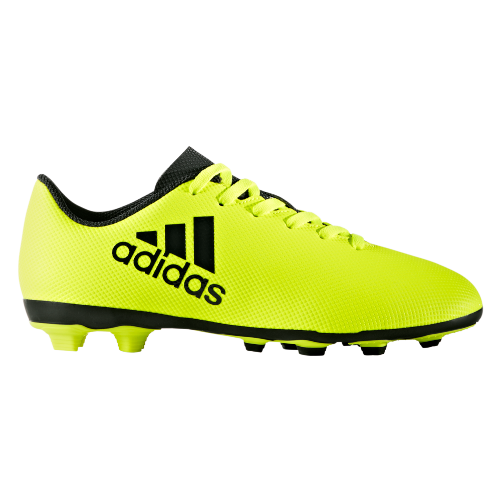 separation shoes 6ac4a 538db adidas X 17.4 FxG football shoes kids solar yellow