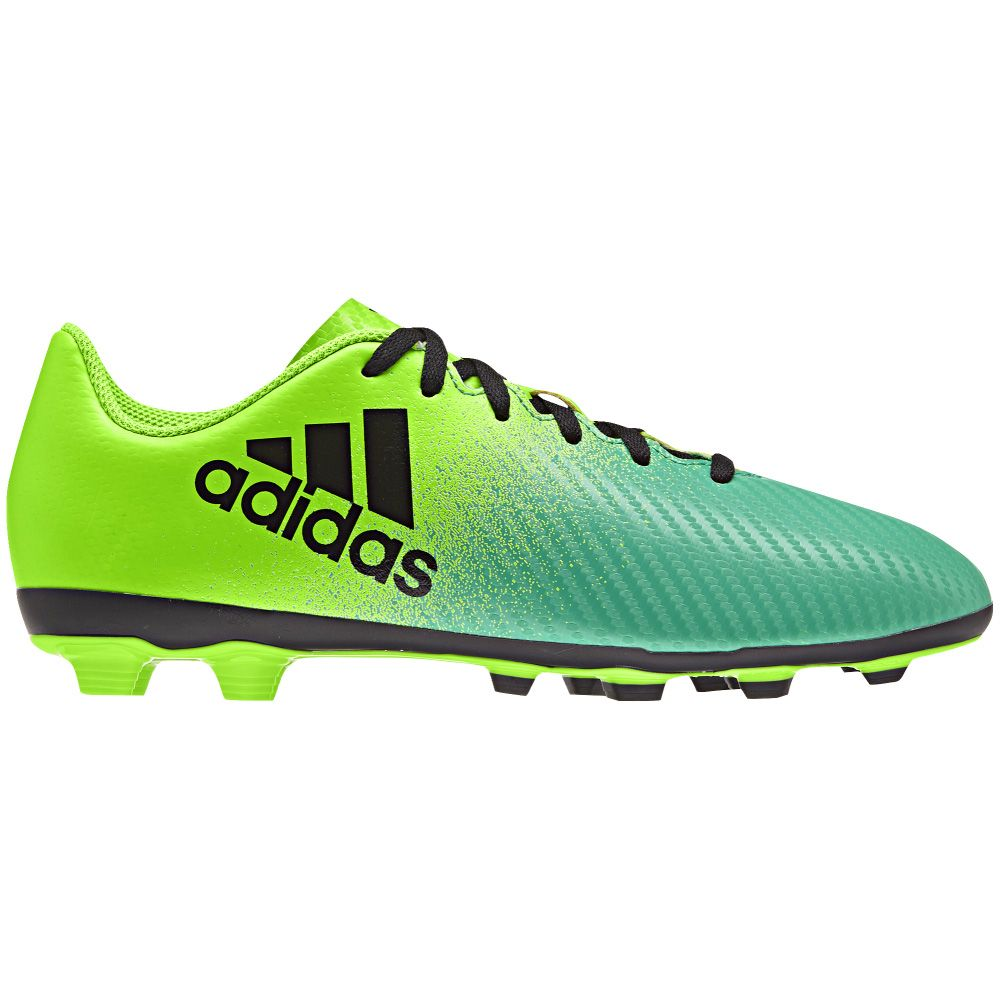 best authentic another chance new design adidas - X16.4 FG Football Shoes Junior solar green at Sport Bittl ...