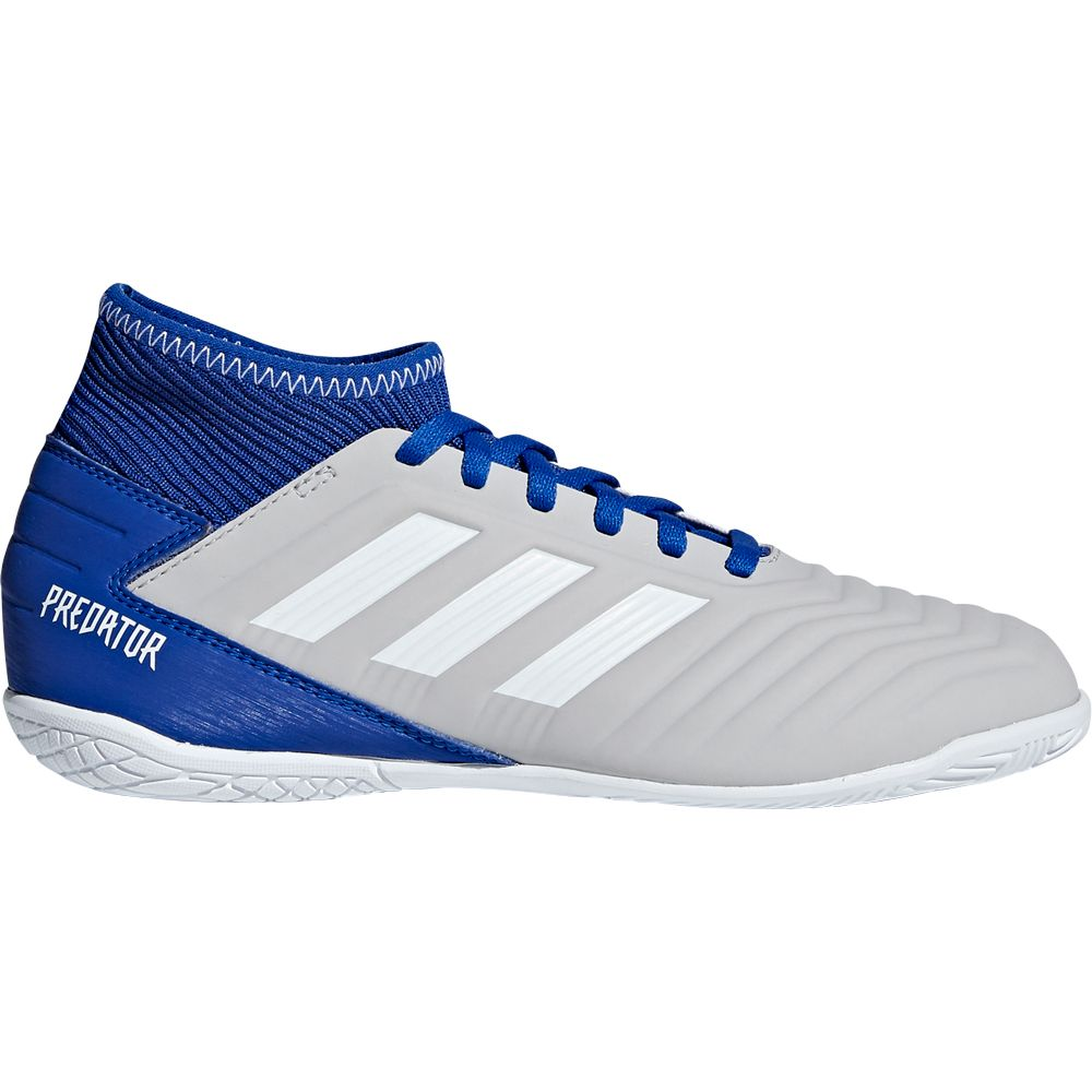 ea90a07c4 adidas Predator Tango 19.3 IN Football Shoes Kids grey two footwear white  bold blue