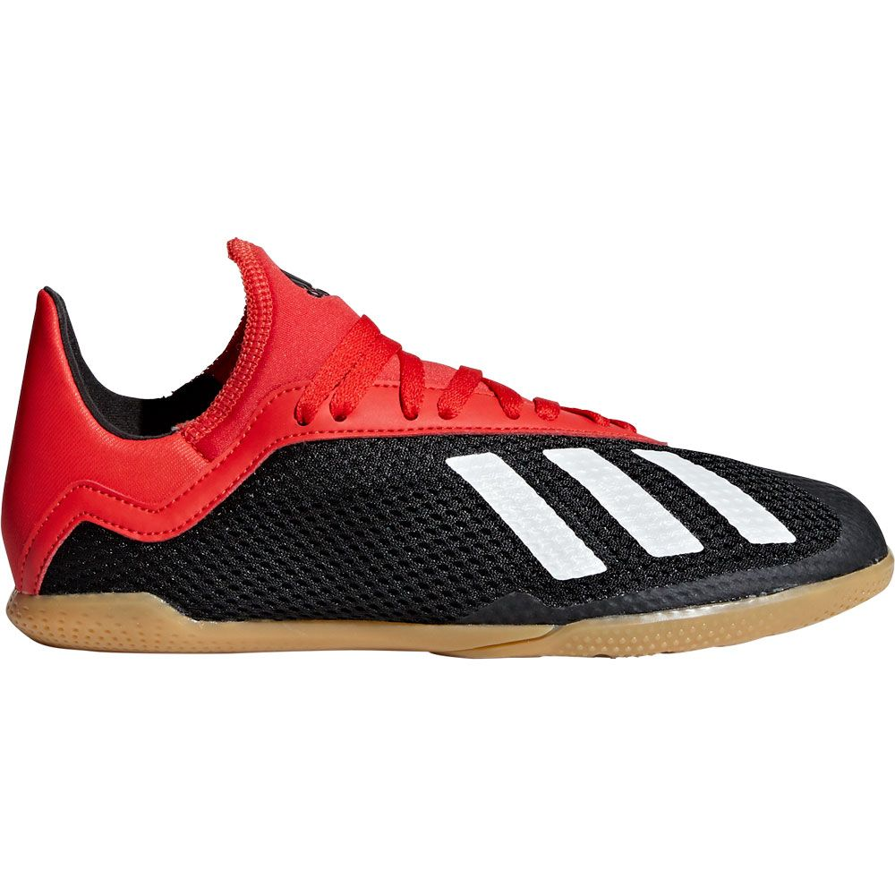 best deals on cb2a5 7e2ad adidas - X 18.3 IN J Football Shoes Kids core black off white active red