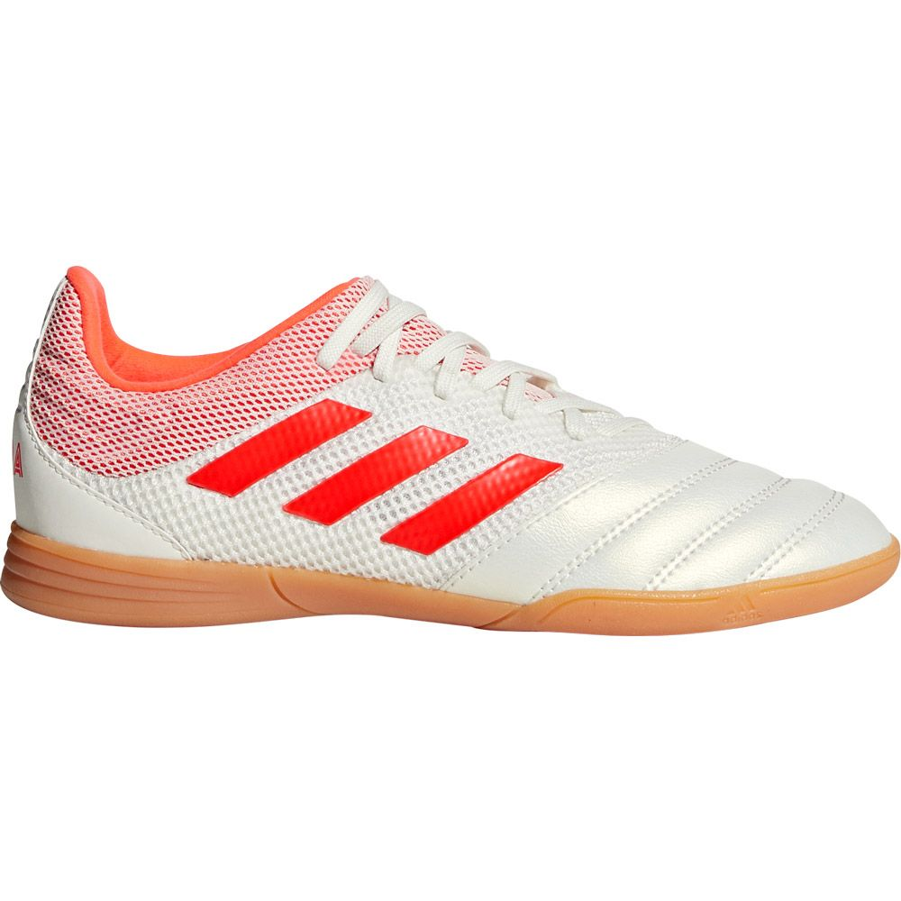 86420d82a76 adidas - Copa 19.3 Sala IN Football Shoes Kids white solar red at ...