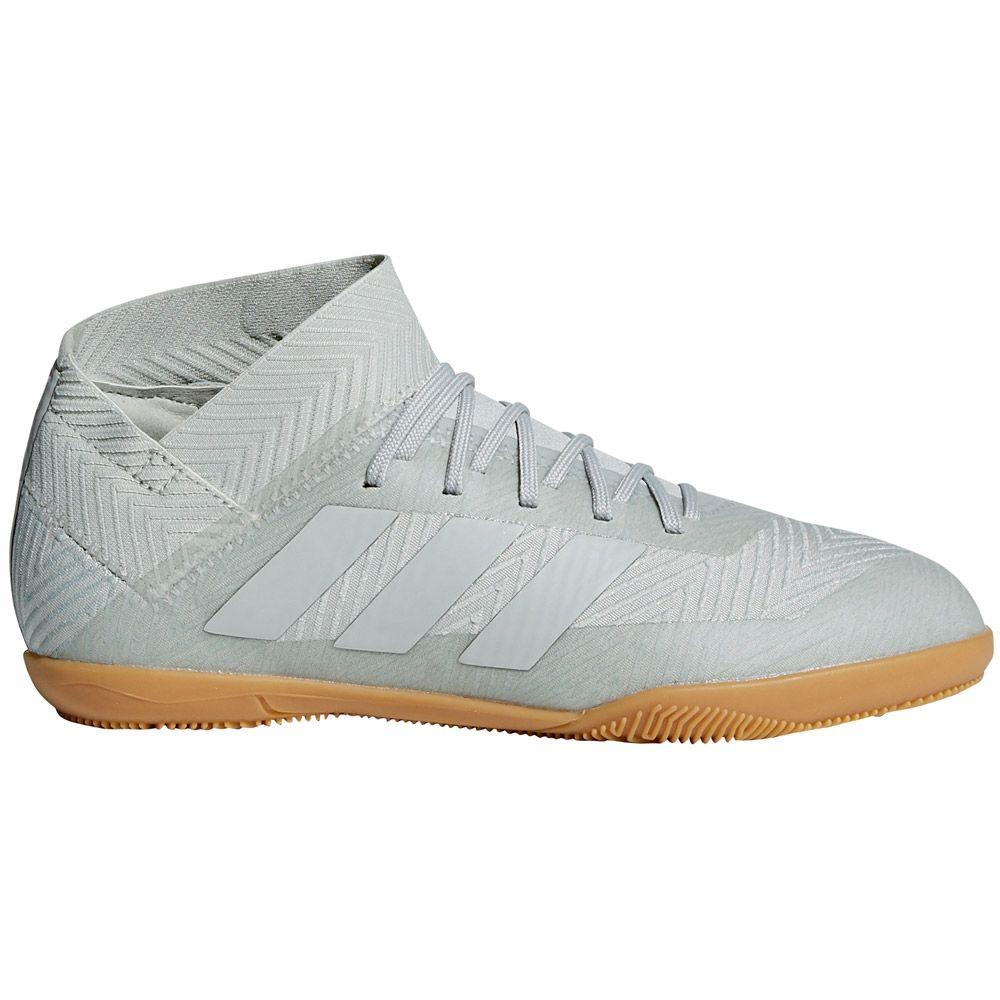 Tango 18 silver 3 white Kids Shoes ash IN tint Nemeziz adidas Football nOk0PwN8X