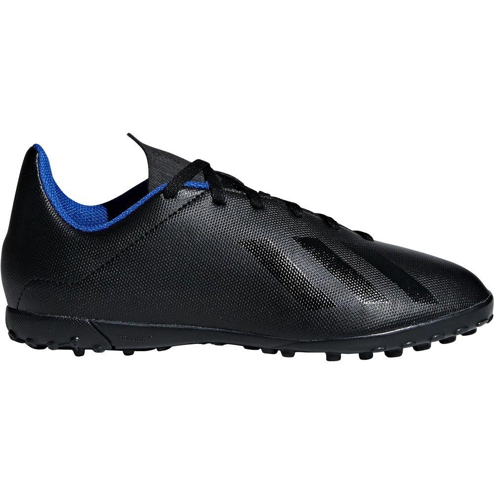 adidas X Tango 18.4 TF J Fußballschuhe Kinder core black bold blue