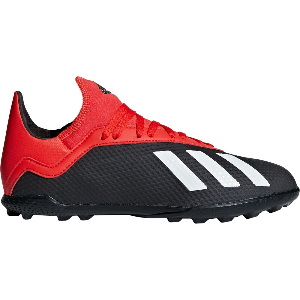 136e62cf23e adidas X Tango 18.3 TF J Football Shoes Kids core black off white active red