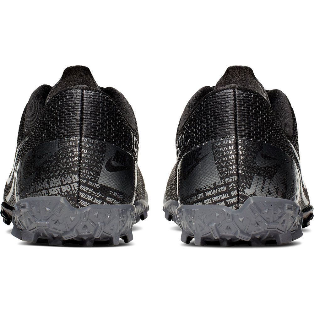 Compagno marmo formula  Nike - Mercurial Vapor 13 Academy TF Soccer Shoe Kids black mtlc cool grey  at Sport Bittl Shop