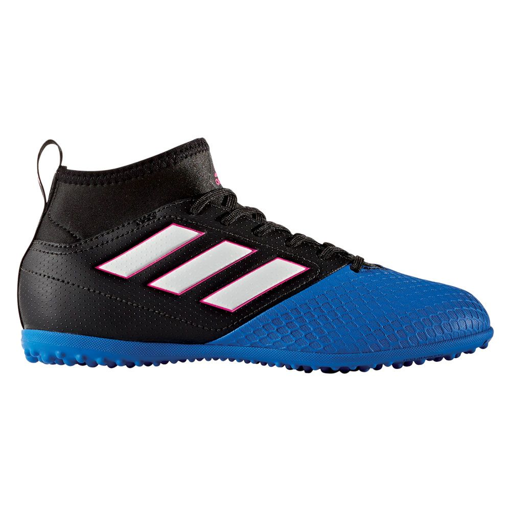 adidas - Ace 17.3 TF JR. football shoes kids core black blue at ... d7bc89b6d971