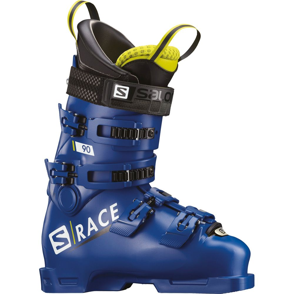 Salomon SRace 90 Kinder race blue acid green
