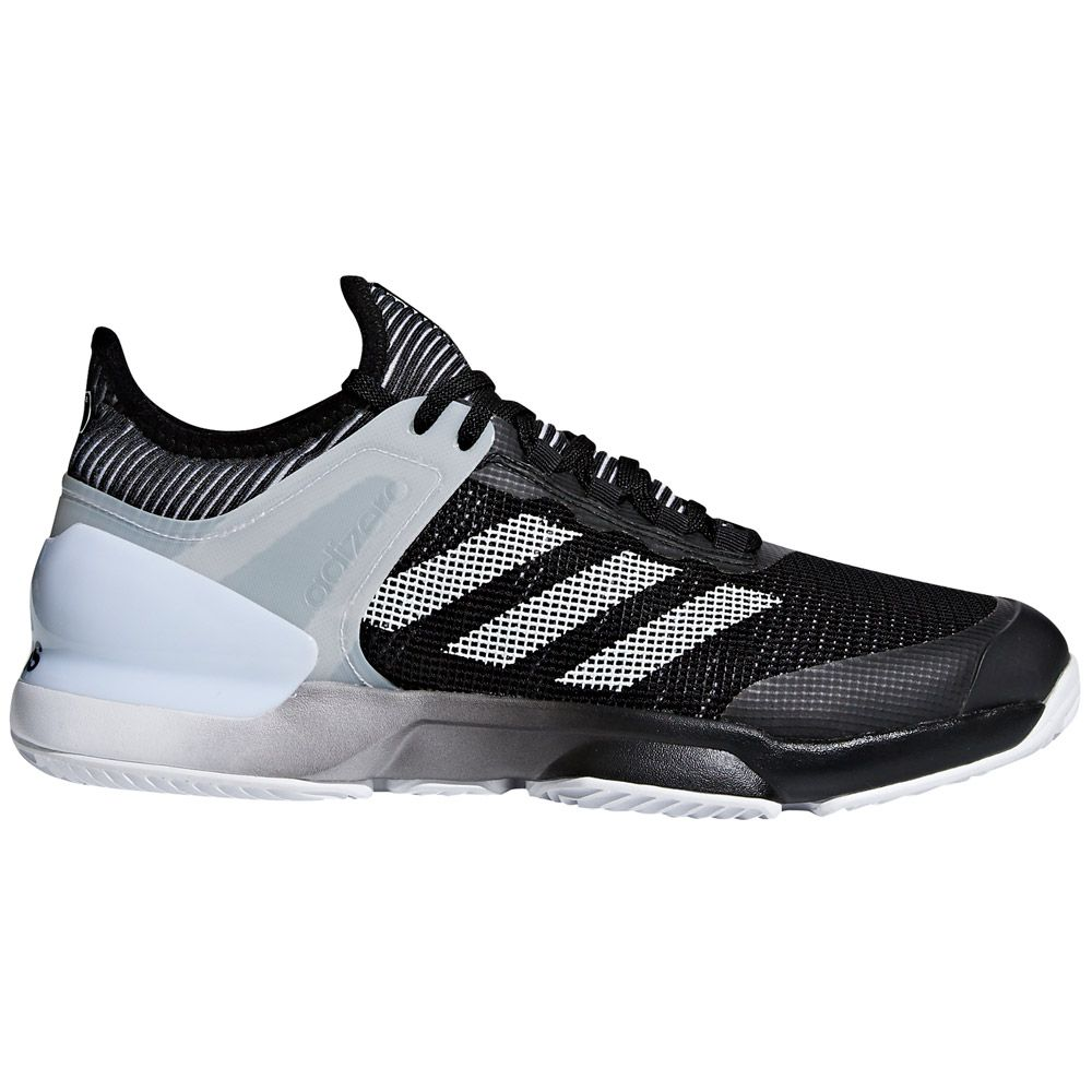 the latest 47f7f c119c adidas Adizero Ubersonic 2.0 Clay tennis shoes men core black ftwr white