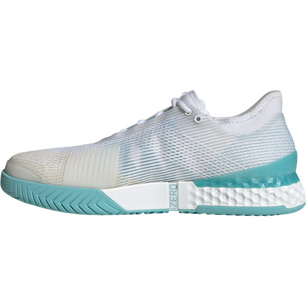 adidas Adizero Ubersonic 3 x Parley Tennisschuhe Herren footwear white blue spirit