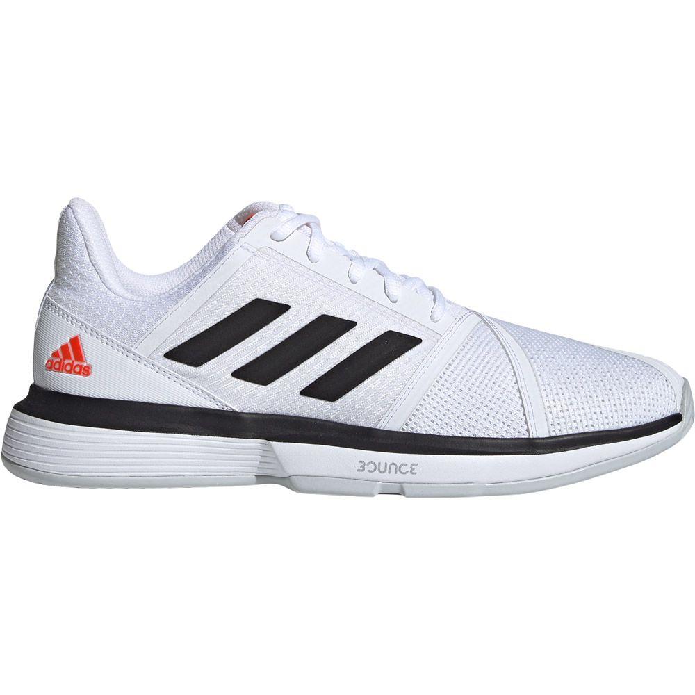 rápido torneo Humedad  adidas - CourtJam Bounce Shoes Men footwear white core black lgh solid grey  at Sport Bittl Shop