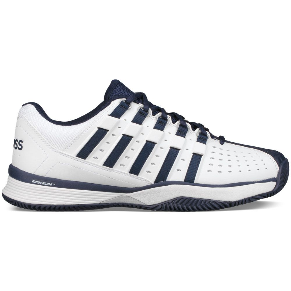 k swiss hypermatch hb tennisschuhe herren white navy silver kaufen im sport bittl shop. Black Bedroom Furniture Sets. Home Design Ideas