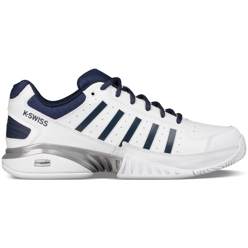 k swiss receiver iv tennisschuhe herren white navy kaufen im sport bittl shop. Black Bedroom Furniture Sets. Home Design Ideas