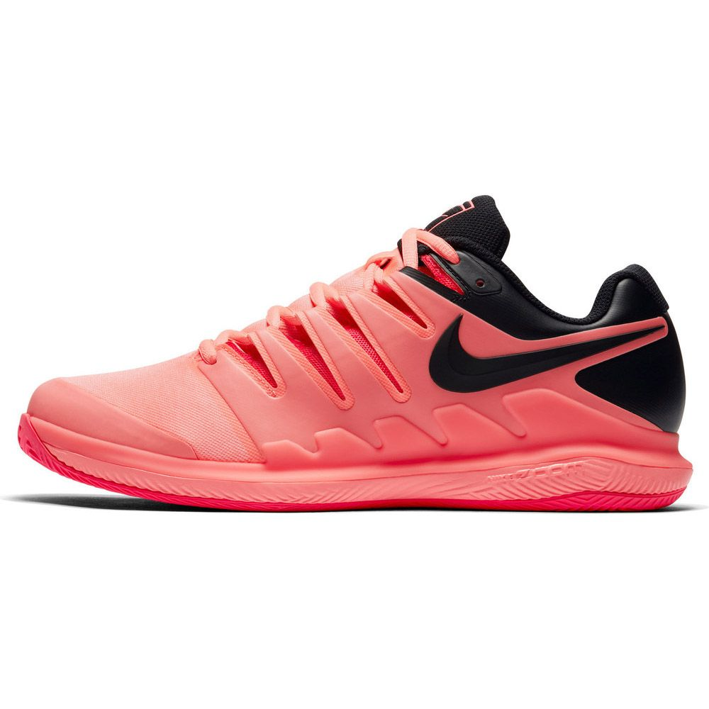pretty nice 879d4 2cbdf Nike Air Zoom Vapor X Clay Tennis Shoes Men lava glow solar red black