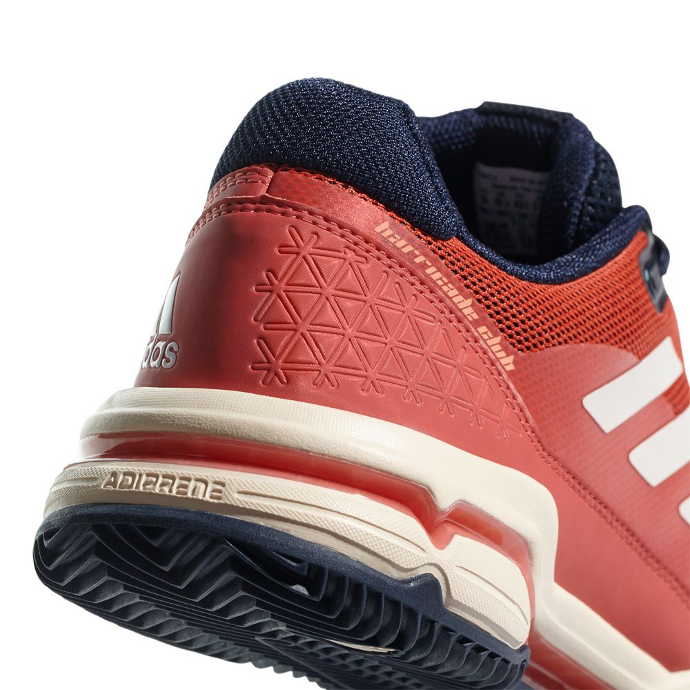 Adidas Barricade 2018 Boost Clay Tennis Shoes Red