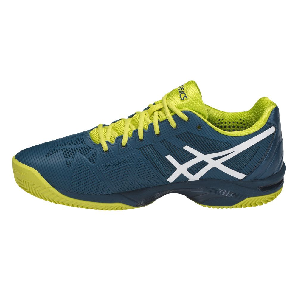 Asics Mens Gel-Solution Speed 3 Clay Tennis Shoes Navy Blue Sports Lightweight