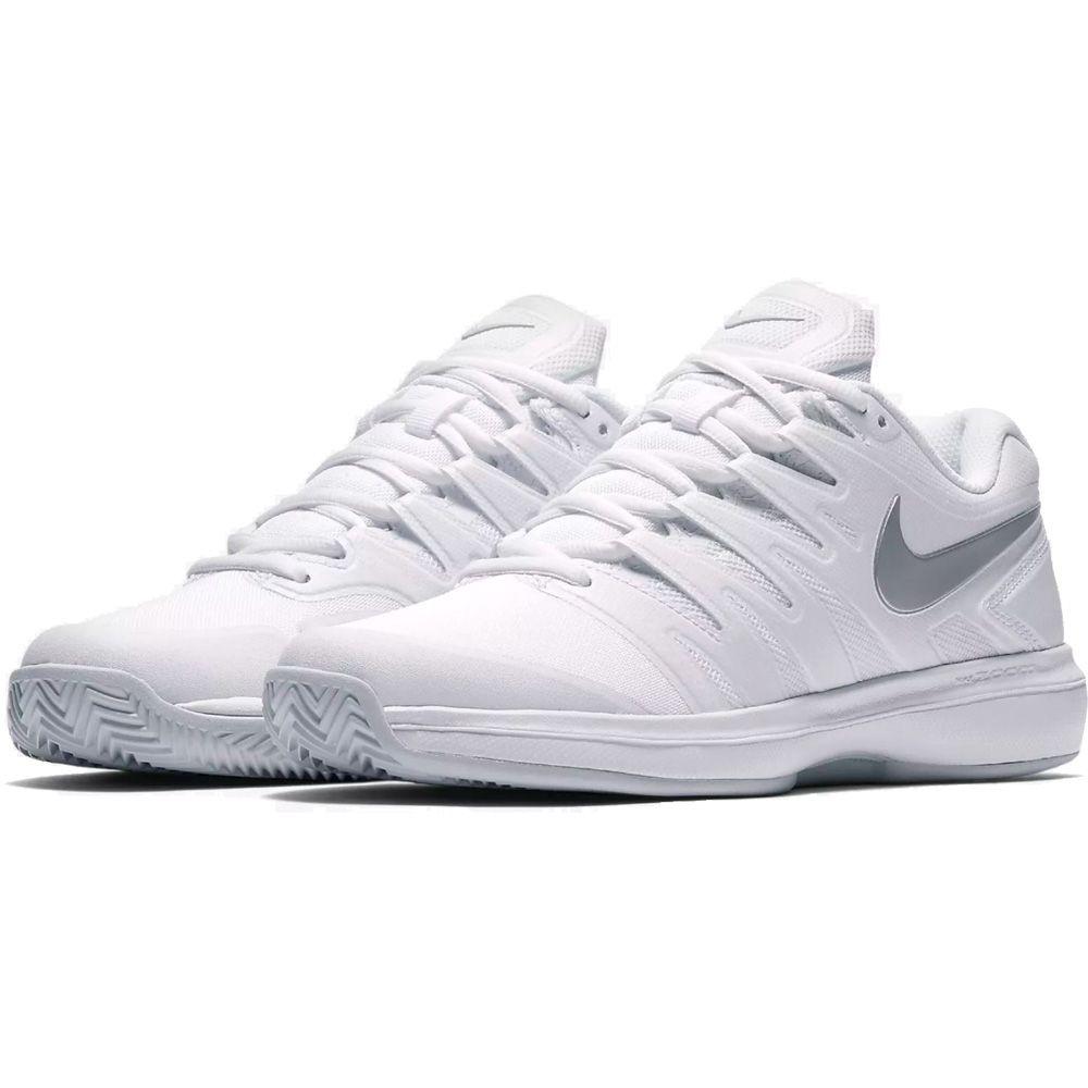 Nike Air Zoom Prestige Clay Tennisschuhe Damen white pure