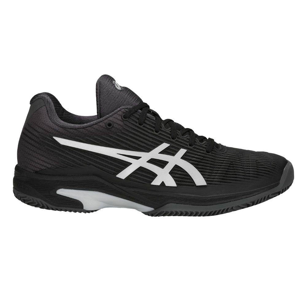f251ab14fe ASICS - Solution Speed FF Clay Tennis Shoes Women black silver at ...