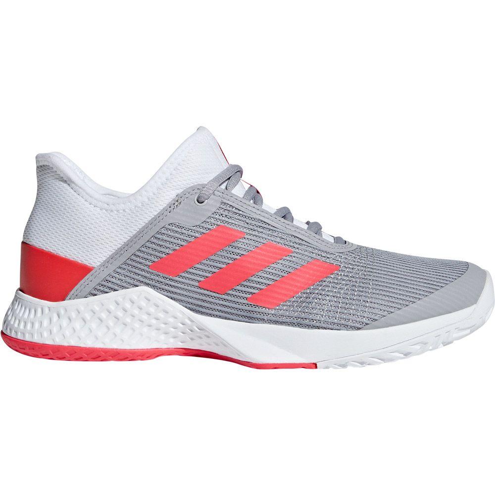 newest collection 8ed66 686c0 adidas Adizero Club Tennis Shoes Women footwear white shock red light  granite