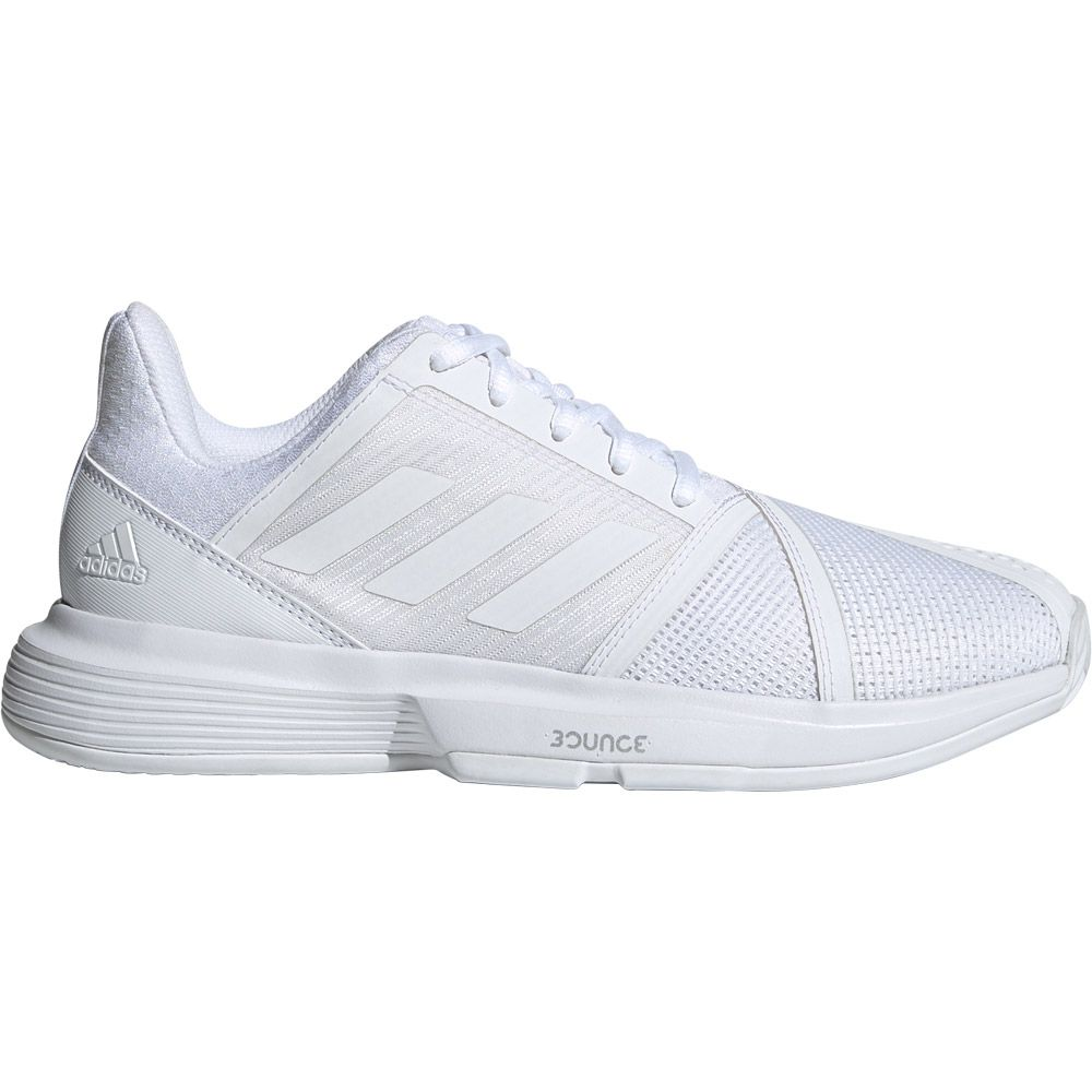 adidas - CourtJam Bounce Tennis Shoes Women footwear white matte silver