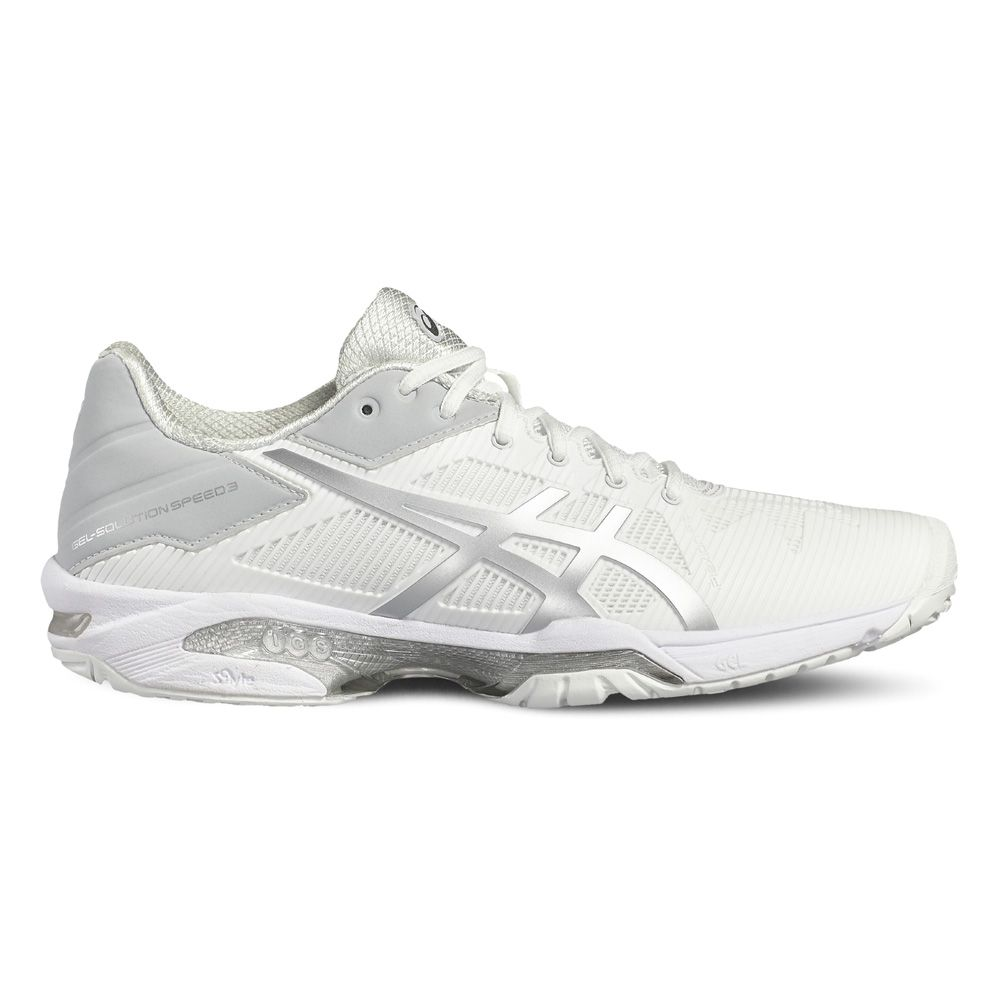 f5c33dc300 ASICS - Gel Solution Speed 3 W tennis shoes women white at Sport ...